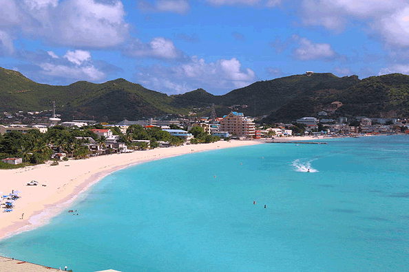St Martin is known for its Beautiful beaches.