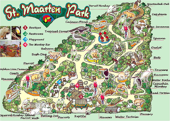 St Maaten Zoo Guide